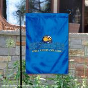 Fort Lewis College 2 Ply Double Sided Garden Flag
