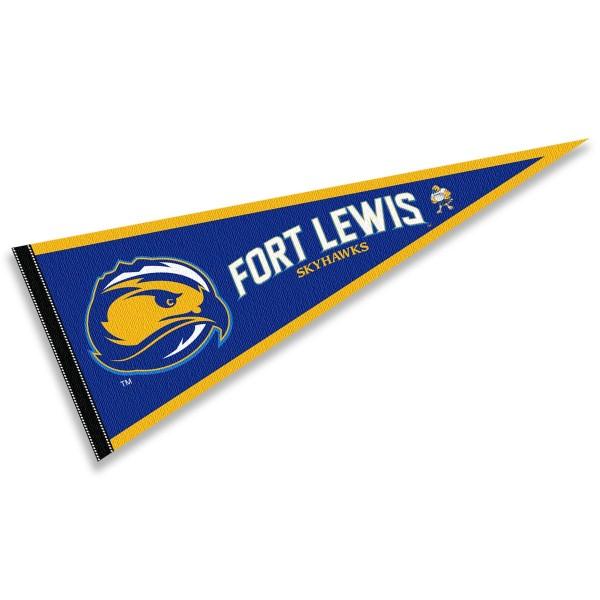 Fort Lewis Skyhawks Pennant