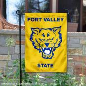Fort Valley State University 2 Ply Double Sided Garden Flag
