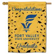 Fort Valley State Wildcats Graduation Banner