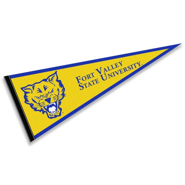 Fort Valley State Wildcats Pennant