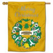 Framingham State Rams Christmas Holiday House Flag
