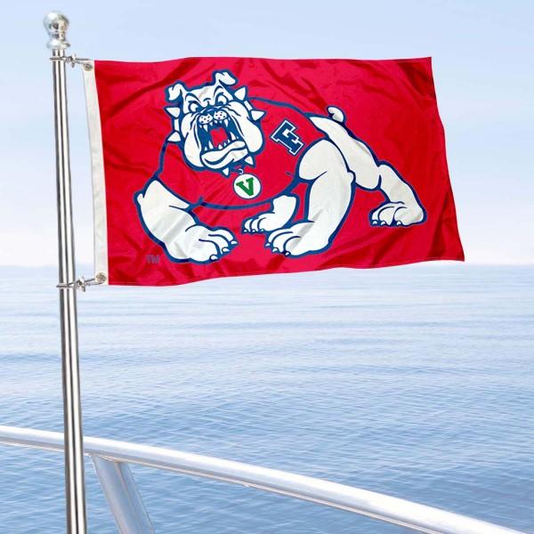 Fresno State Boat Flag