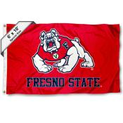 Fresno State Bulldogs 6x10 Foot Flag