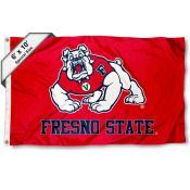 Fresno State Bulldogs 6x10 Foot Flag
