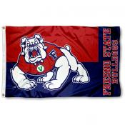 Fresno State Bulldogs Flag