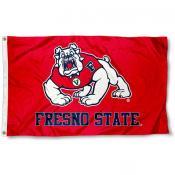 Fresno State Bulldogs Logo Flag