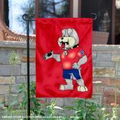 Fresno State Bulldogs Mascot Victor E Garden Flag
