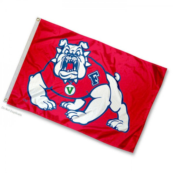 Fresno State Bulldogs Mini Flag