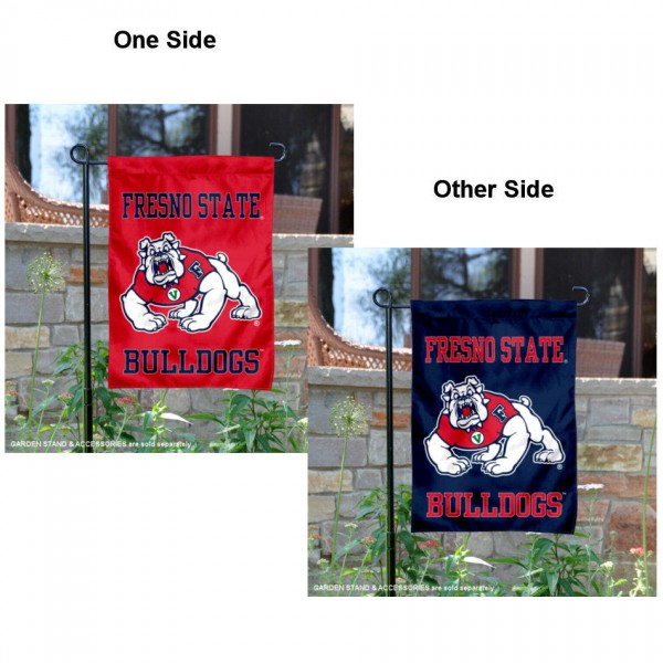 Fresno State Bulldogs Two Sided Garden Banner