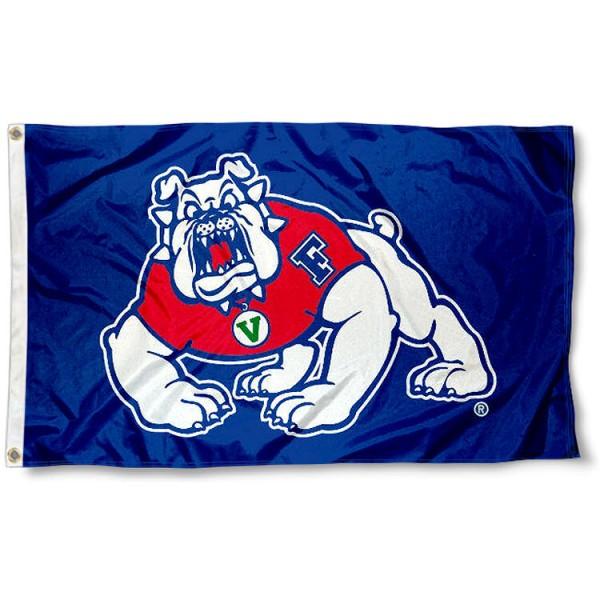 Fresno State University Blue Flag