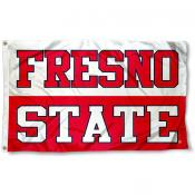 Fresno State University Logo Flag