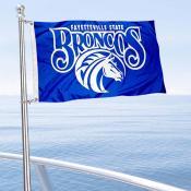 FSU Broncos Boat Nautical Flag