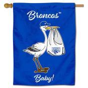 FSU Broncos New Baby Banner