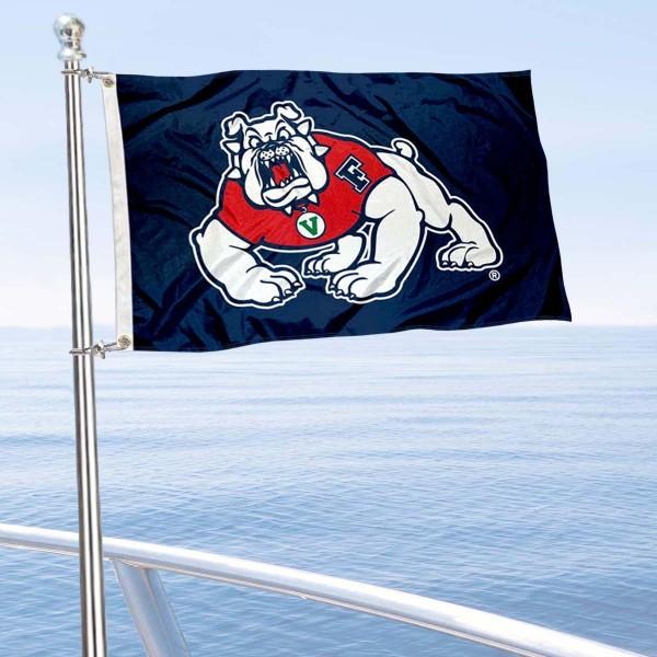 FSU Bulldogs Boat Nautical Flag