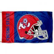 FSU Bulldogs Helmet Flag