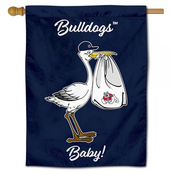 FSU Bulldogs New Baby Banner