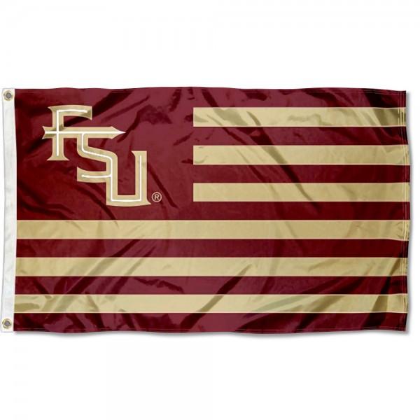 FSU Seminoles American USA Nation Flag