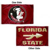 FSU Seminoles Arrow Spear Flag