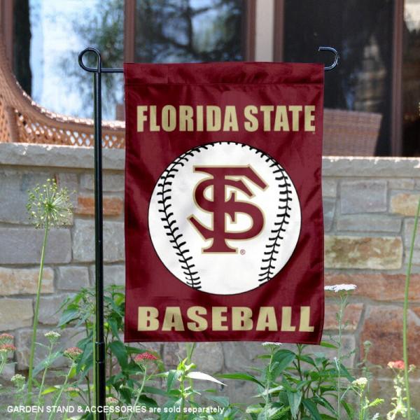 FSU Seminoles Baseball Garden Flag