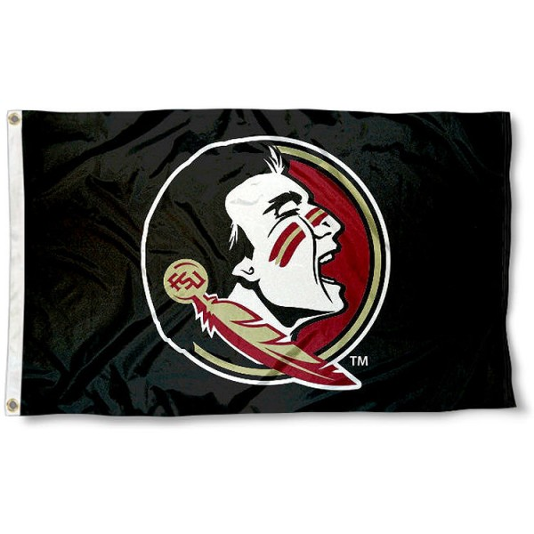 FSU Seminoles Black Flag