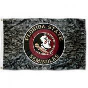 FSU Seminoles Camouflage 3x5 Foot Flag