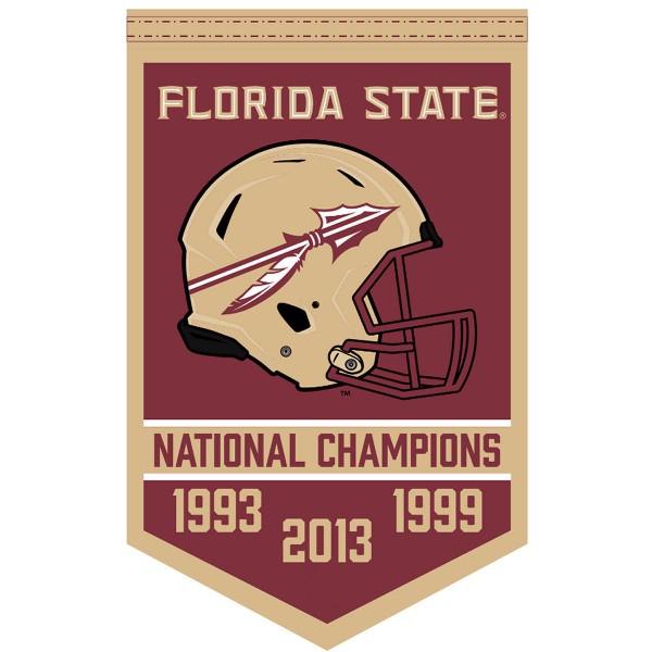 FSU Seminoles College Football National Champions Banner