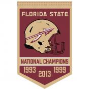 FSU Seminoles College Football National Champions Banner