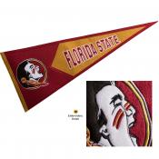 FSU Seminoles Embroidered Wool Pennant