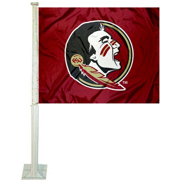 FSU Seminoles New Logo Car Flag