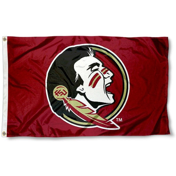 FSU Seminoles New Logo Flag