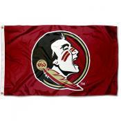 FSU Seminoles New Logo Flag