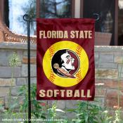 FSU Seminoles Softball Garden Flag