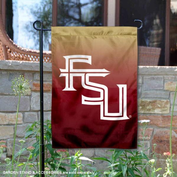 FSU Seminoles Two Tone Garden Banner