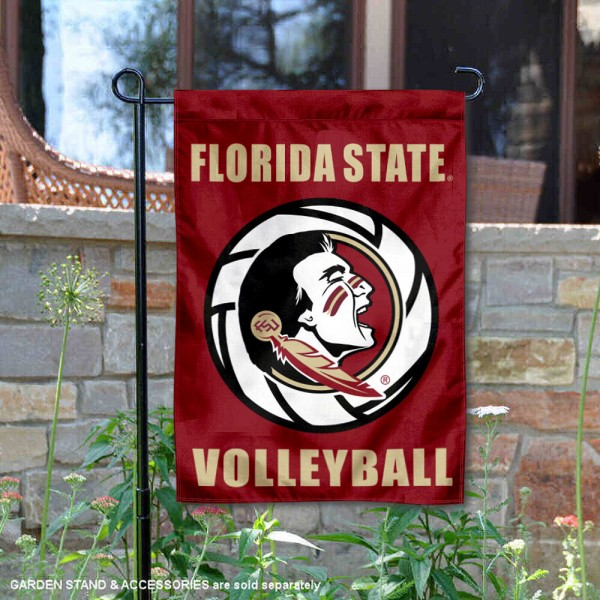 FSU Seminoles Volleyball Garden Flag