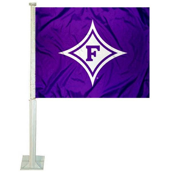 Furman Paladins Car Flag