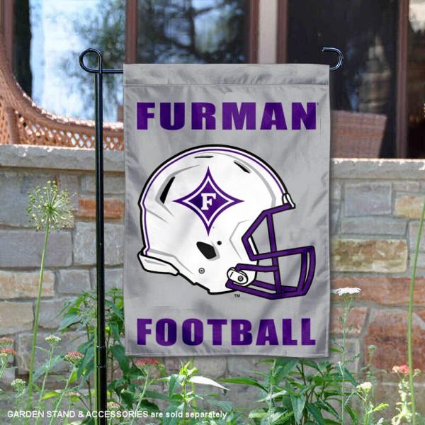 Furman Paladins Football Garden Flag