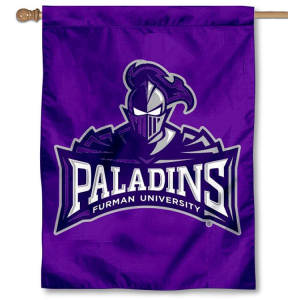 Furman Paladins House Flag
