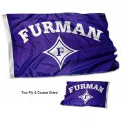 Furman University Flag - Stadium