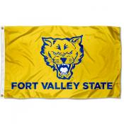 FVSU Wildcats Gold Flag