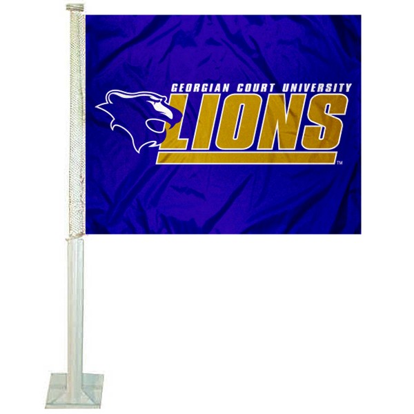 GCU Lions Logo Car Flag