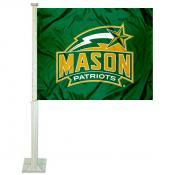 George Mason Patriots Car Flag