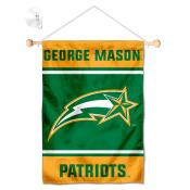 George Mason Patriots Window Hanging Banner with Suction Cup