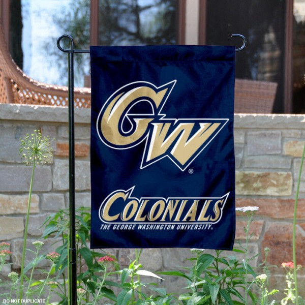George Washington University Garden Flag