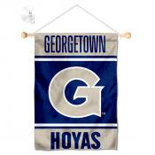 Georgetown Hoyas Window Hanging Banner with Suction Cup