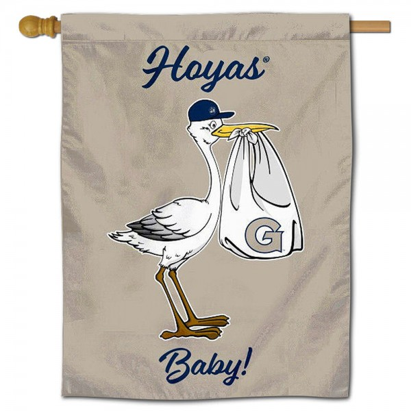 Georgetown New Baby Banner
