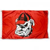 Georgia Bulldog Flag