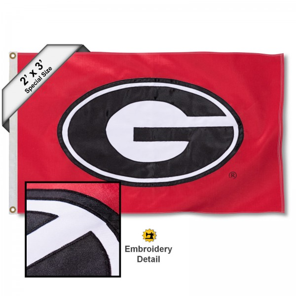 Georgia Bulldogs 2x3 Flag