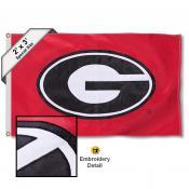 Georgia Bulldogs 2x3 Flag