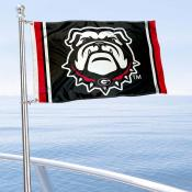 Georgia Bulldogs Dawg Nautical and Golf Cart Flag